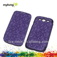 hot selling book style case for Samsung S4 back cover case