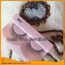 new style !silk human hair strip lashes