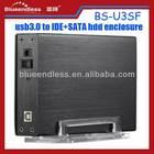 "SATA/IDE hard drive case 3.5"" usb2.0 external hdd box"