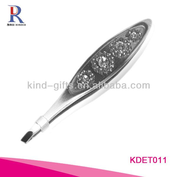 Wholesale Custom Logo Crystal Scissor Tweezers For Promotional Gift