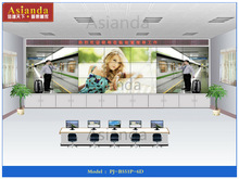 Shop Commerical wall mounted led outdoor large screen for Railway Control Rooms