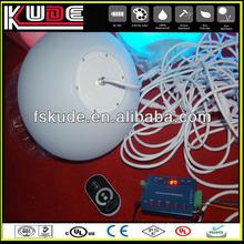 DMX remote control illuminated led decoration/ led hanging ball light/outdoor hanging led light balls