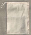 Small Natural Cotton Drawstring Bag