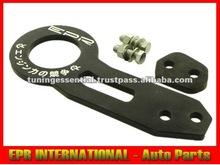 6061 Aluminium EPR Car Rear Tow Hook Black 10mm Nissan S14 S15