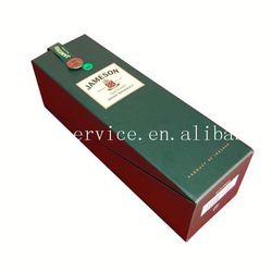 High quality cardboard wine carrier box