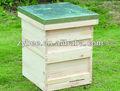 madeira mel beekeep uma camada da colmeia de abelhas