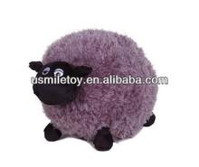 plush fat sheep,plush purple sheep,plush toy