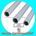 mergulho quente galvanizado metal emt tubo ul