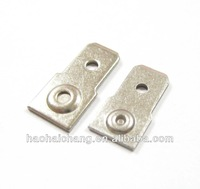 6.3mm 250 Type Ni-plating Cable Splicing Wire Connector Terminal