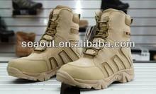 Exército caça sapatos deserto militar de combate de infantaria caçados polícia tática caça botas