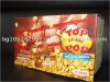 Popular Snack Display Box Sugar Microwave Popcorn