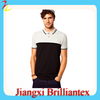 China Suppliers Fashion Original Mens 100% Cotton Breathable Polo Shirts With Panel In Contrast Pique Cheap Price Polo T shirt