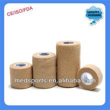 Human/pet Care Non Woven Cohesive Flexible Bandage 7.5cm*4.5m Iso/ce ( S )!!