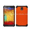 orange and black diamond bling phone case for Samsung Galaxy Note 3 III N9000