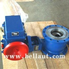 Large Diameter Electric Ball Valve Dimension