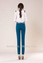 2014 high quality cotton lycra fabric