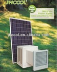 Solar air condition /air cooler 100% solar energy