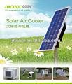 Aire acondicionado solar/refrigerador de aire 100% energía solar