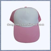 Girls Fashional Pink Mesh Caps Pink Trucker Caps