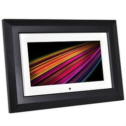 "9"" Optimus 16-665 16MB 640x220 Widescreen Digital Photo Frame (Black)"