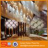 2013 new style!Decorative metal mesh curtain fabric,steel cascade coil mesh drapery