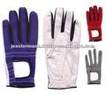Gants de golf en cuir synthétiques, gants de golf de similicuir
