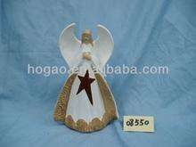wholesale resin angel figurine christmas souvenir