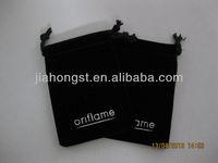 2013 new vevlet drawstring bag for oriflame pouch