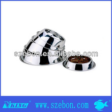 stainless steel cheap bone shape Pet water bowl