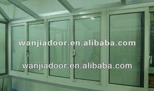 Factory whosale price white color pvc sliding windows