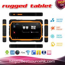Specialty IP65 waterproof dustproof shockproof rugged tablet pc M76 with GPS bluetooth WIFI