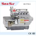 Sr-777d-5 5 fio overlock máquina de costura overlock máquina de costura industrial para venda overlock máquina de costura manual