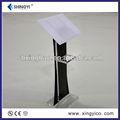 vasos de acrílico podio pulpit atril