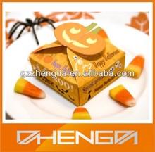 Hot!!! China Suppliar Halloween Amazing Gift Cake Pumpkin Paper Box(ZDP-P036)