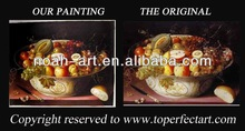 2013 NEW design oil painting pictures of fruits