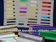 Metallic Violet Hot Stamping foils for laminated paper