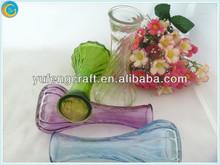 antique brown glass vase,centerpieces,hand blown antique glass vases