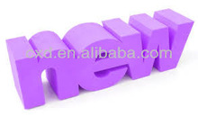 2013 foam board letters and 3d foam letters