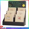 Pop business card display rack ,paper table picture counter business card,card display racks/small racks
