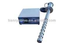 Ultrasonic sonochemistry biodiesel processor system