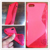 Wholesale TPU s line ultra thin case for iphone 5c