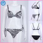 Beach swimsuits 2013 zebra stripes girl bikini/beautiful girl sex picture/sexy girl photos