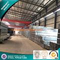 pre galvanizado tubos rectangulares hechos en china
