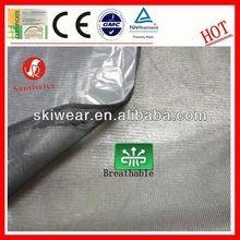 high quality breathable mesh cloth +tpu film + polar fleece