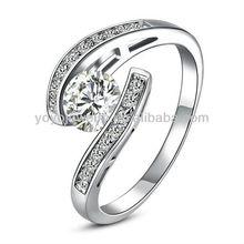 r490 design unico 18 carati oro anelli di diamanti