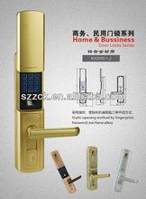 safe electronic fingerrpint lock digital PIN code lock good quality password lock