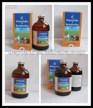 Medicine for blood circulation Vitamin B12 + Butafosfan injection