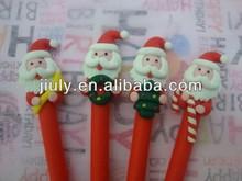 Xmas polymer clay pen