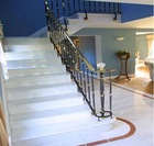 Ziarat/Carerra White Marble Stair Steps