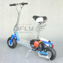 49CC CE Approved Foldable folding 16 inch gas scooter seat with Steel Board